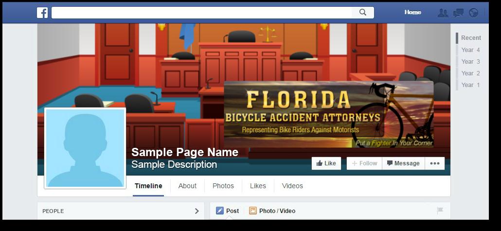 FB bicycle lawyer florida