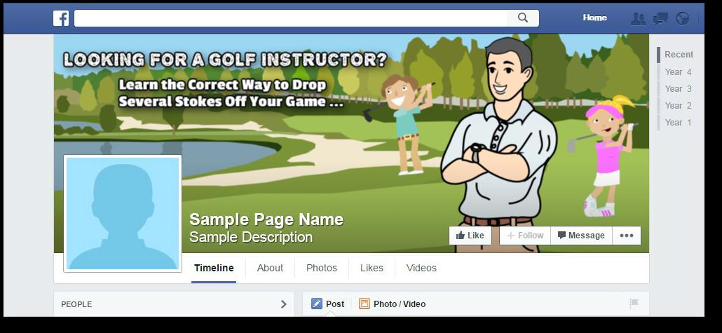 FB golf instructor