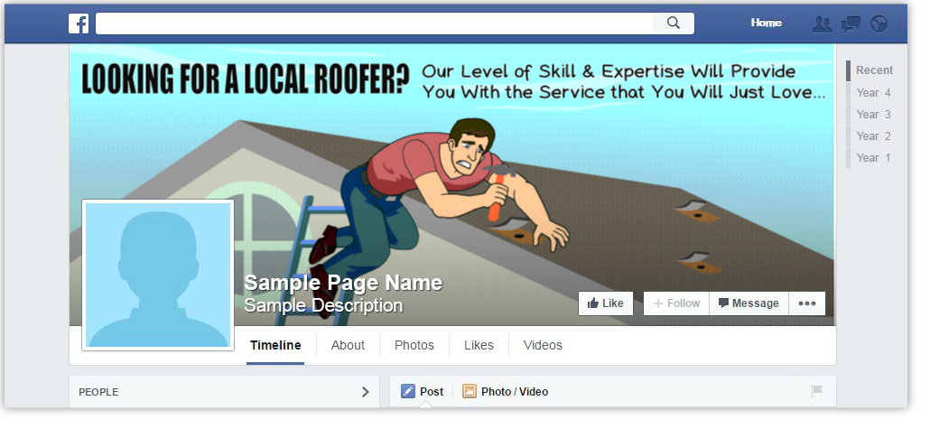 FB roofing company