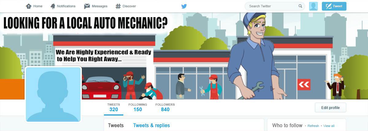 T auto mechanic shop